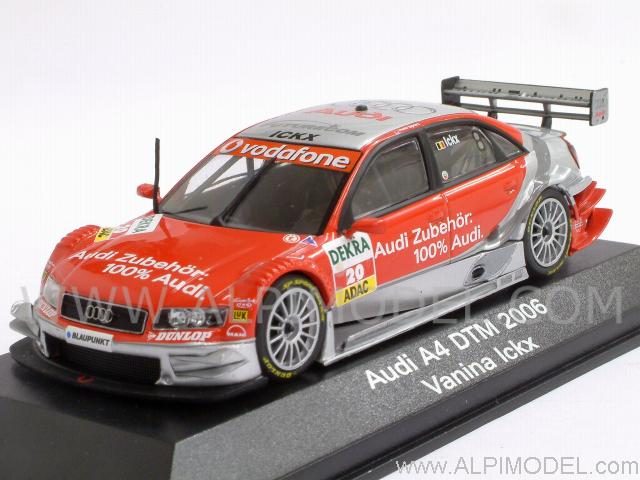 minichamps audi a4 39 audi zubehoer 39 20 dtm 2006 vanina. Black Bedroom Furniture Sets. Home Design Ideas