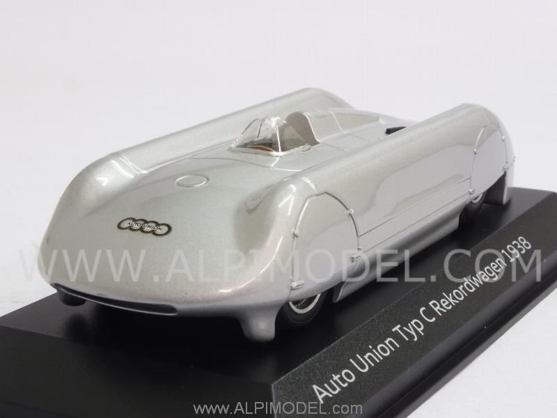 minichamps auto union typ c rekordwagen 1938 audi promo. Black Bedroom Furniture Sets. Home Design Ideas