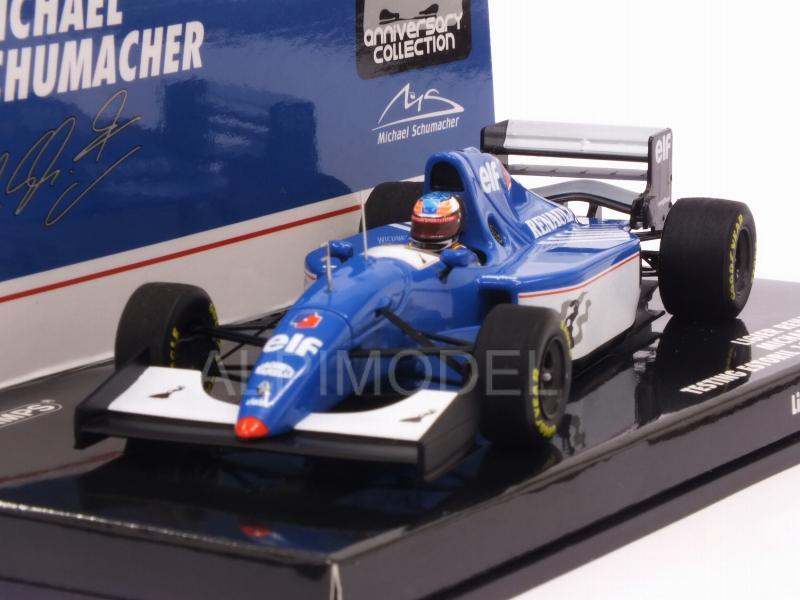 Ligier JS39B Renault Test Estoril 1994 Michael Schumacher by minichamps