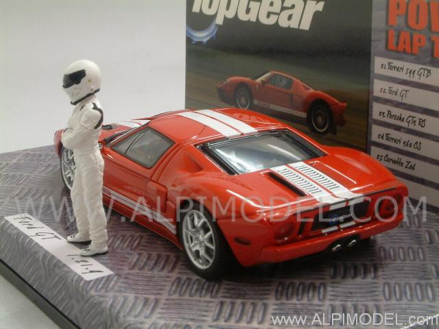 Ford GT 'Top Gear' with 'The Stig' figurine - minichamps