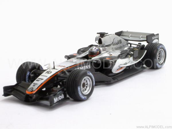 McLaren Mercedes MP4/20 Winner British GP 2005 Juan Pablo Montoya by minichamps