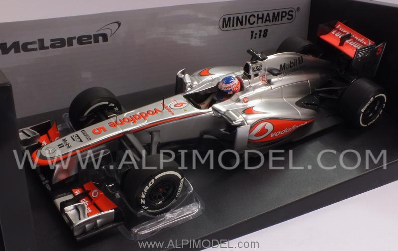 McLaren  MP4/28 Mercedes 2013  Jenson Button - minichamps