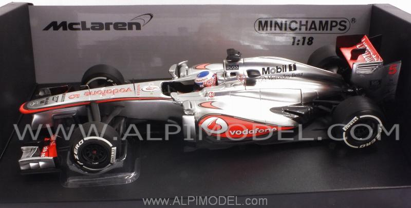 McLaren  MP4/28 Mercedes 2013  Jenson Button by minichamps