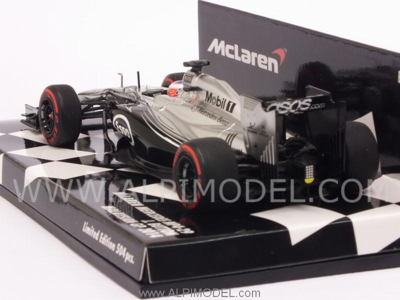 McLaren MP4/29 Mercedes GP Malaysia 2014 Jenson Button - minichamps