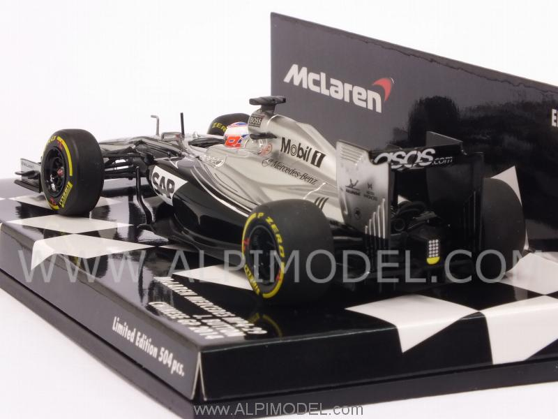McLaren MP4/29 Mercedes GP China 2014 Jenson Button - minichamps