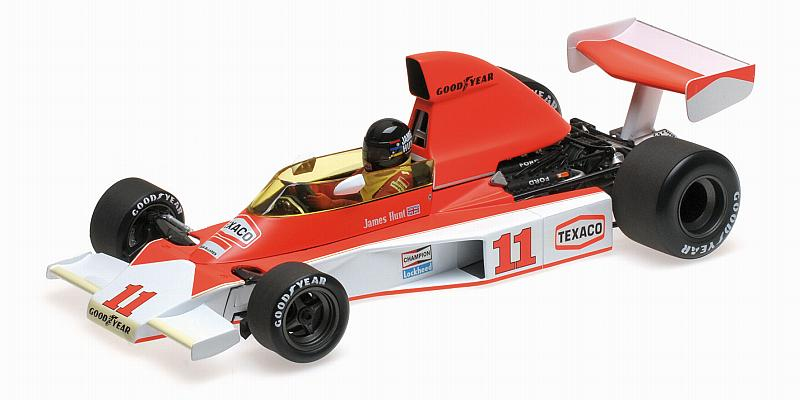McLaren M23 Ford GP South Africa 1976 World Champion James Hunt by minichamps