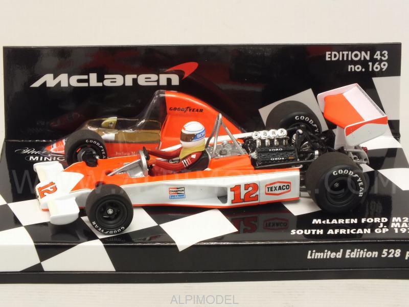 Jochen Mass SOUTH AFRICAN Minichamps 1:43 McLaren Ford M23