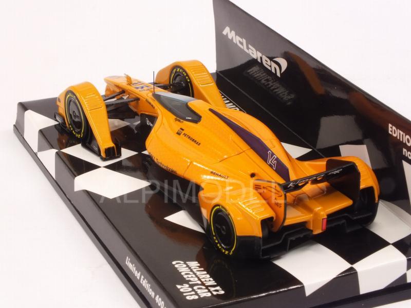 F1 Concept 2018 Minichamps 1:43-537133814 McLaren MP-X2
