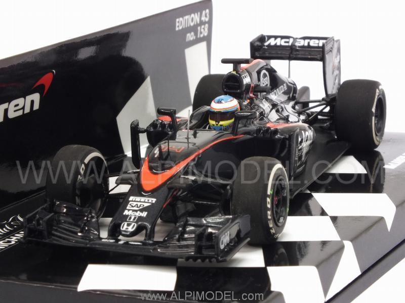 minichamps McLaren MP4/30 Honda British GP 2015 Fernando ...