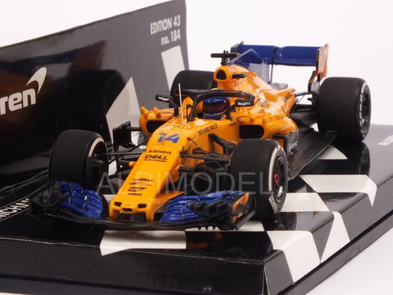 McLaren MCL33 Renault F1 2018 Fernando Alonso 537184314 Minichamps 1:43
