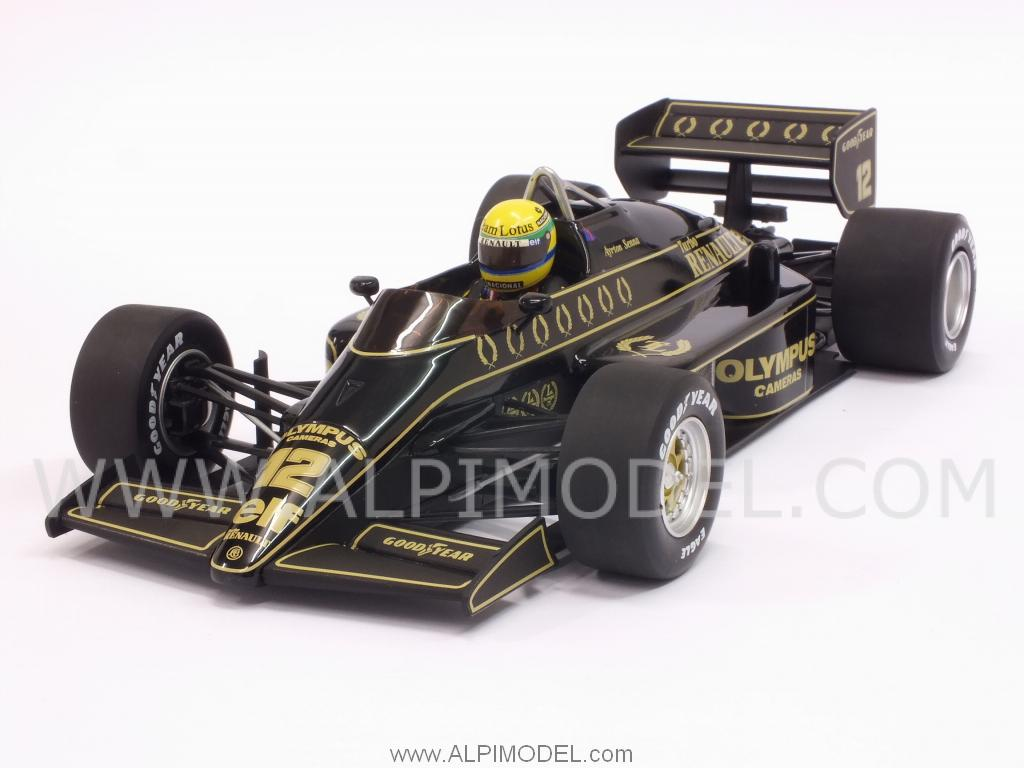 Lotus 97T Renault Turbo 1985  Ayrton Senna by minichamps