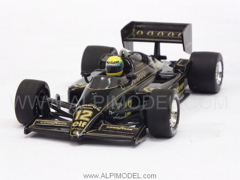 Lotus 97T Renault 1985 Ayrton Senna (New Edition) by minichamps