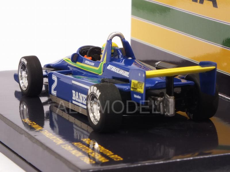 Ralt RT3 Toyota Winner Thruxton 1982 Ayrton Senna 1st F3 Win  (HQ Resin) - minichamps