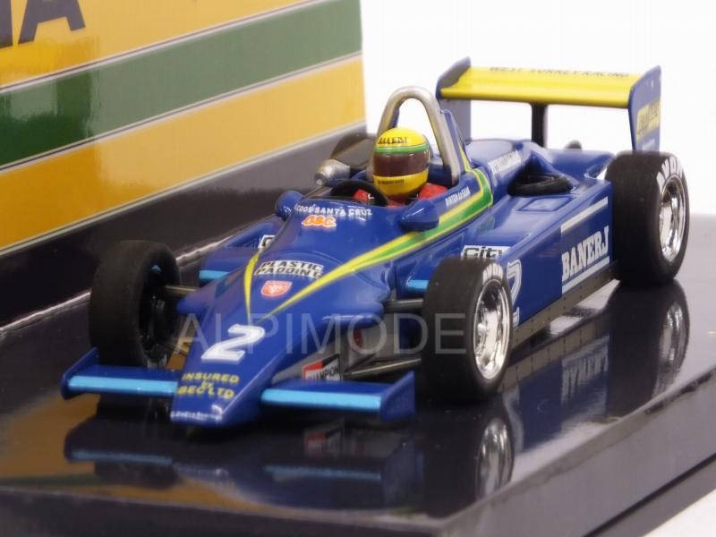 Ralt RT3 Toyota Winner Thruxton 1982 Ayrton Senna 1st F3 Win  (HQ Resin) by minichamps
