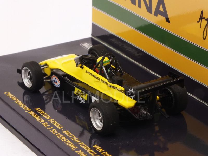 MINICHAMPS 547824311 1//43 1982 VAN DIEMEN RF82 Ayrton Senna FF2000 Voiture Modèle