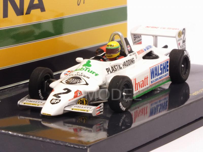 Ralt Toyota RT3 F3 Test Silverstone 1982 Ayrton Senna  (HQ Resin) by minichamps