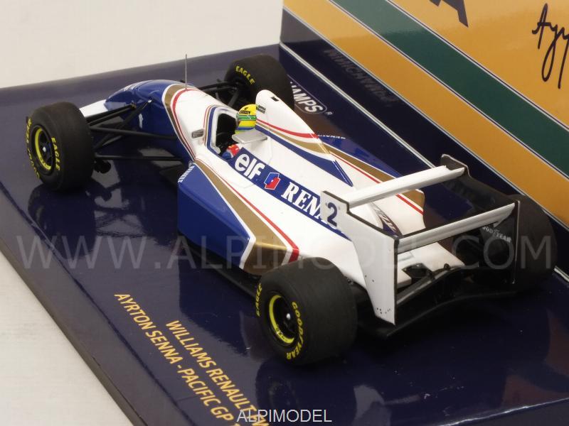 Williams Renault Fw16 Ayrton Senna Pacific Gp 1994 Minichamps 1:43 547940202
