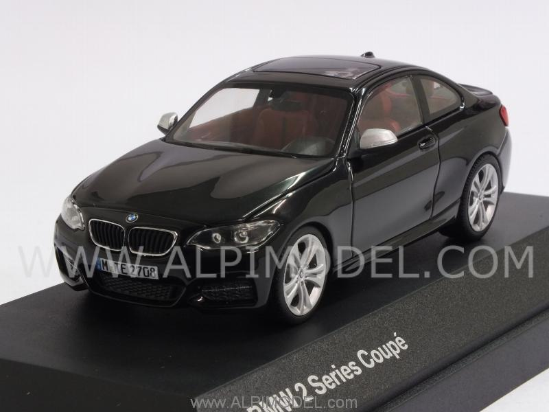 BMW Serie 2 Coupe 2014 (Black) BMW Promo by minichamps