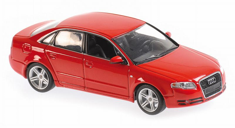Audi A4 Red 2004 'Maxichamps' Edirion by minichamps