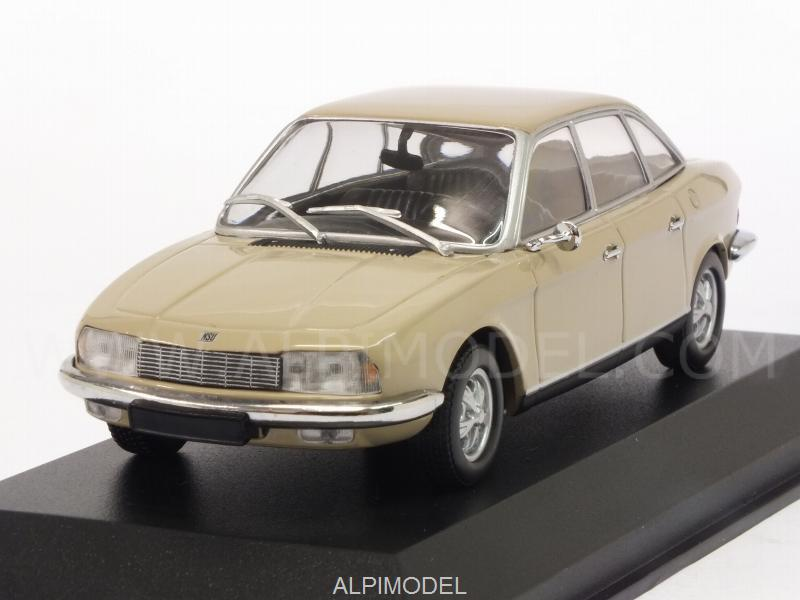 NSU Ro80 1972 (Sahara Beige) 'Maxichamps' Edition by minichamps