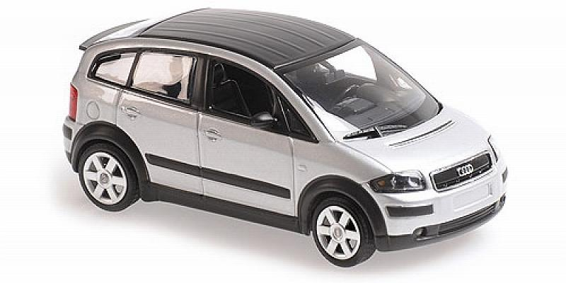 Audi A2 Silver 2000  'Maxichamps' Edition by minichamps
