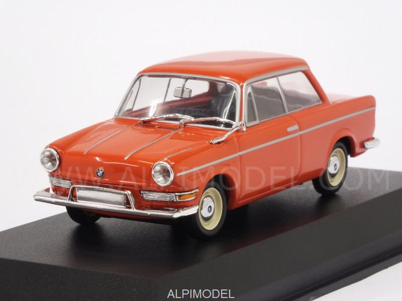 BMW 700 LS 1960 (Red) 'Maxichamps' by minichamps