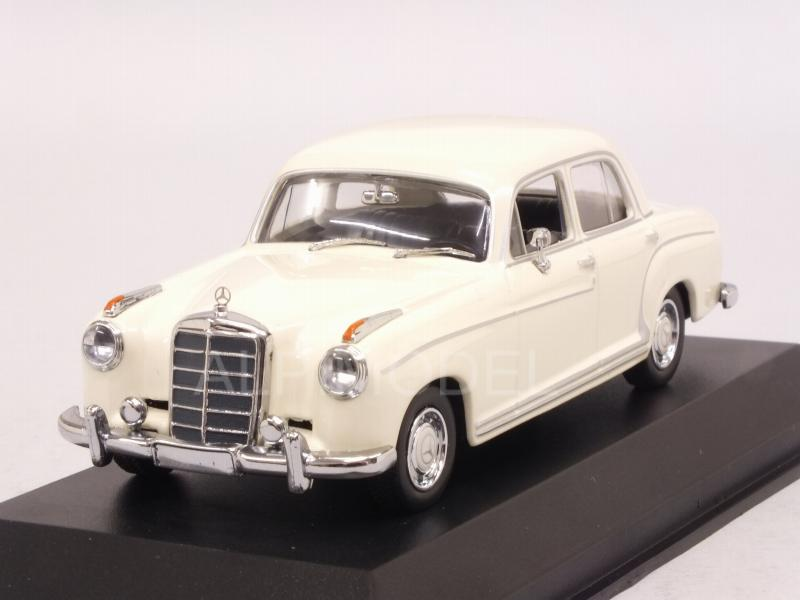 1:43 Minichamps Mercedes 220 S 1956 white