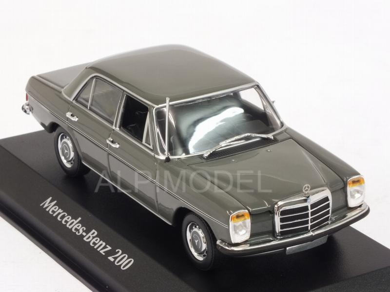 Mercedes 200D (W114/115) 1968 (Grey) 'Maxichamps' Edition - minichamps