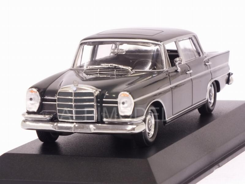 Mercedes 300 SE Lang 1963 (Dark Grey) 'Maxichamps' Edition by minichamps
