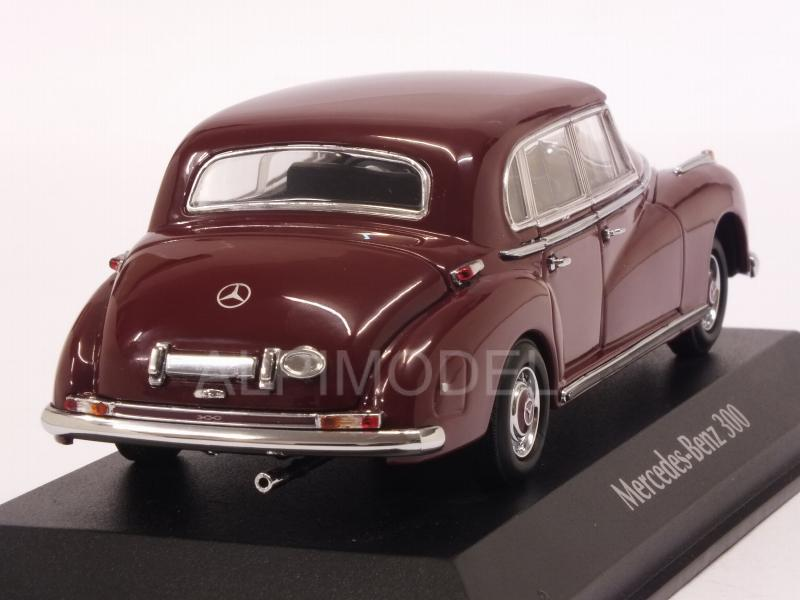 Mercedes 300 1951 (Dark Red)  'Maxichamps' Edition - minichamps
