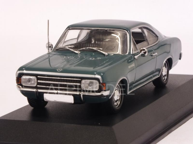 Opel Rekord C Coupe 1966 (Blue)  'Maxichamps' Edition by minichamps
