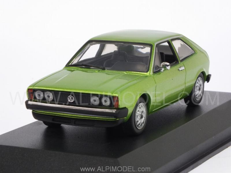 Volkswagen Scirocco 1974 (Green Metallic)  'Maxichamps' Edition by minichamps