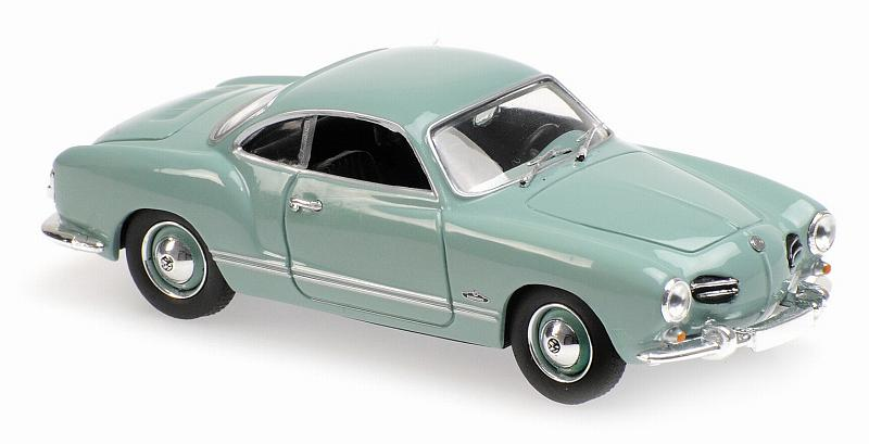Volkswagen Karmann Ghia Coupe 1955 (Light Blue)  'Maxichamps' Edition by minichamps
