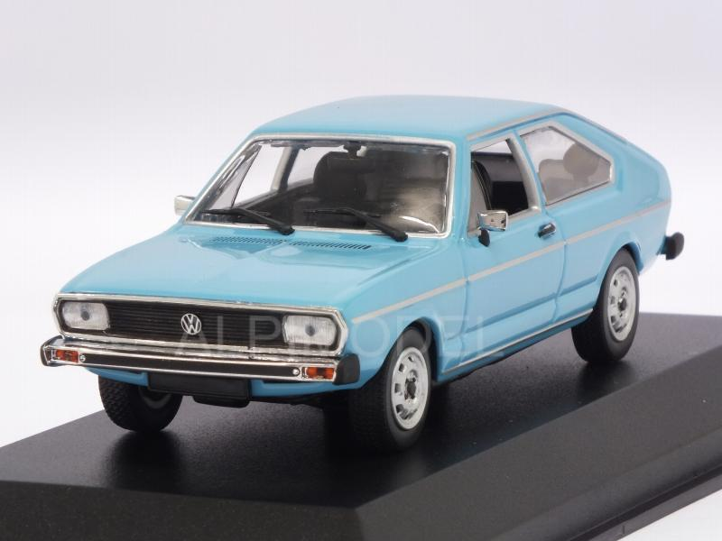 Volkswagen Passat 1975 (Light Blue) 'Maxichamps' Edition by minichamps