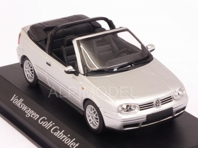 Volkswagen Golf 4 Cabriolet 1998 (Silver)  'Maxichamps' Edition - minichamps