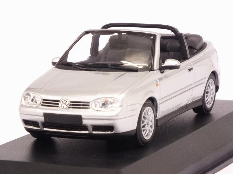 Volkswagen Golf 4 Cabriolet 1998 (Silver)  'Maxichamps' Edition by minichamps