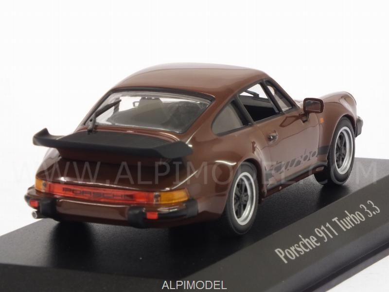 Minichamps 940069001 Porsche 911 Turbo 3 3 930 1979 Brown Maxichamps Edition 1 43