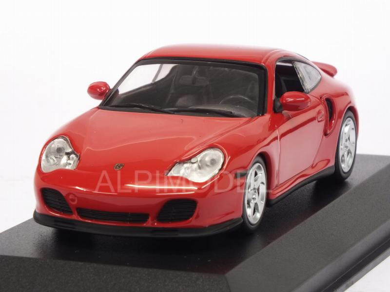 Porsche 911 Turbo (996) 1999 (Red)  'Maxichamps' Edition by minichamps