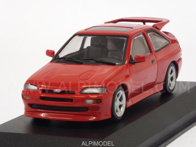 Ford Escort RS Cosworth 1992 (Red)  'Maxichamps' Edition by minichamps