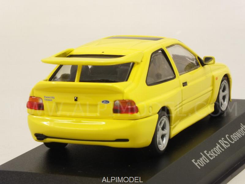 Ford Escort RS Cosworth 1992 (Yellow)  'Maxichamps' Edition - minichamps