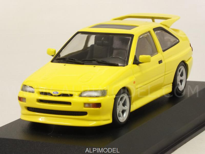 Ford Escort RS Cosworth 1992 (Yellow)  'Maxichamps' Edition by minichamps