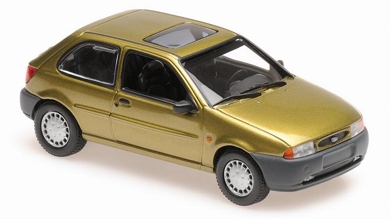 Ford Fiesta 1995 (Gold)  'Maxichamps' Edition by minichamps