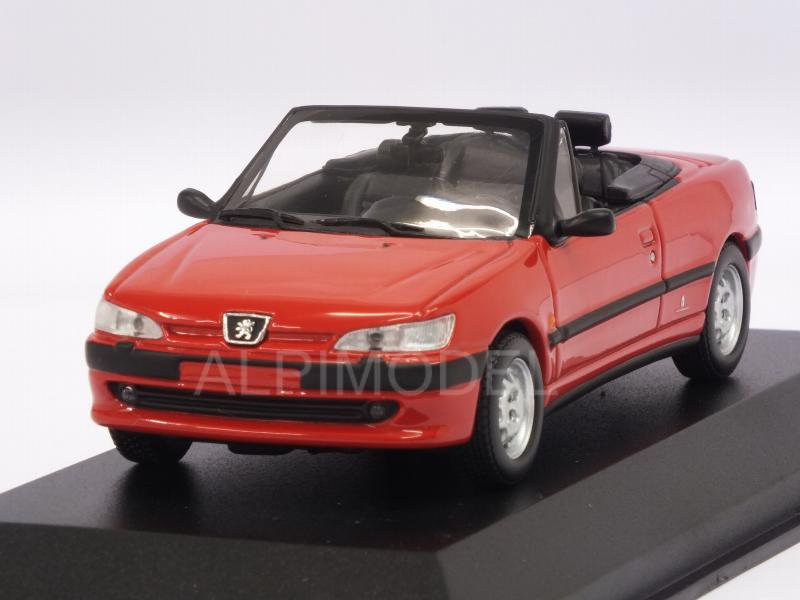 Peugeot 306 Cabriolet 1998 (Red)  'Maxichamps' Edition by minichamps