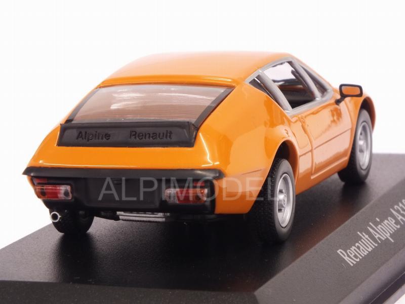 Minichamps maxichamps 940113591-renault alpine a 310 1976 orange 1//43