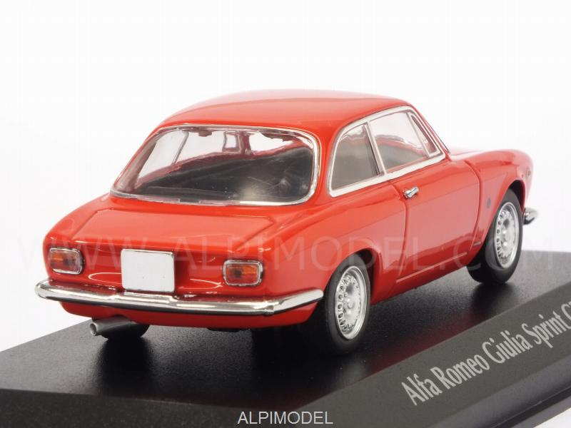 Alfa Romeo Giulia Sprint GTA 1965 (Red)  'Maxichamps' Edition - minichamps