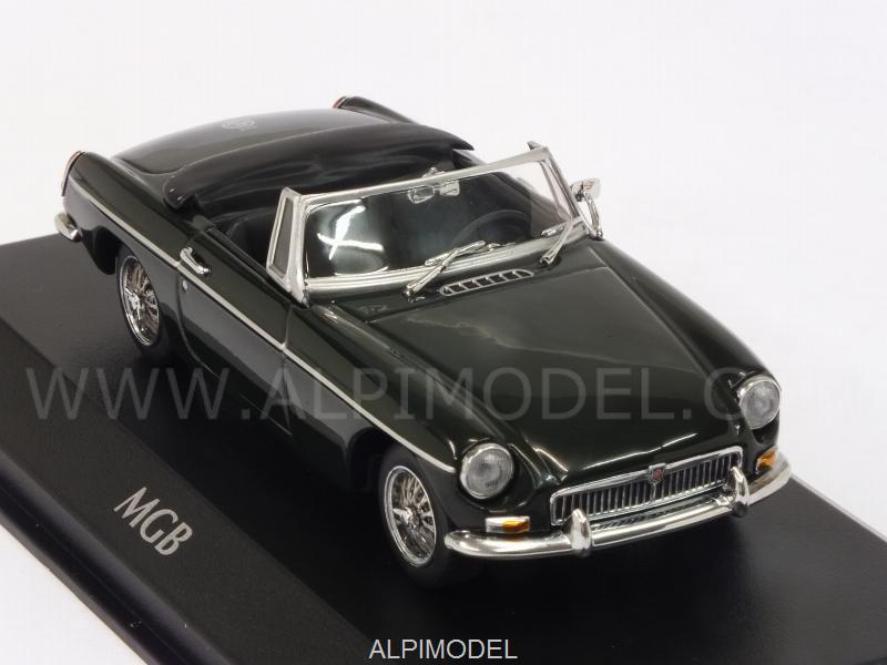 MG B Cabriolet 1962 (Green) 'Maxichamps' Edition - minichamps