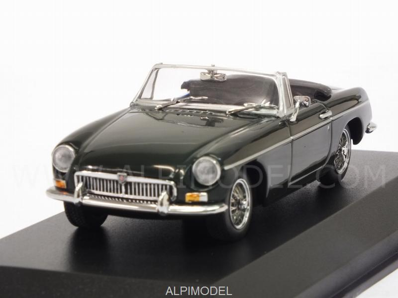 MG B Cabriolet 1962 (Green) 'Maxichamps' Edition by minichamps