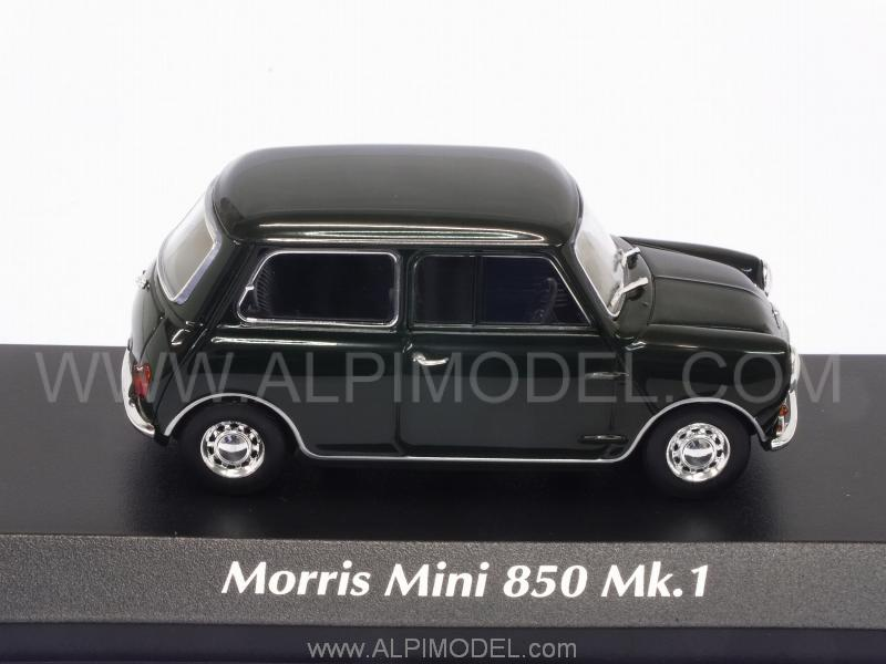 Morris Mini 850 Mk1 1960 (Dark Green) 'Maxichamps Collection' - minichamps