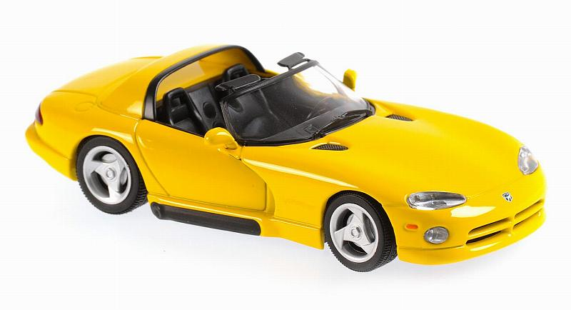 Dodge Viper Roadster Yellow 1993  'Maxichamps' Edition by minichamps
