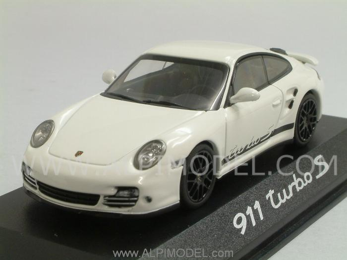 Porsche 911 Turbo S (White) Porsche Promo by minichamps